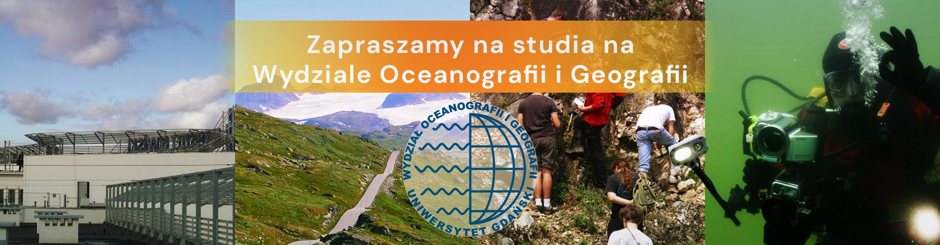 Zapraszamy na studia na Wydziale Oceanografii i Geografii