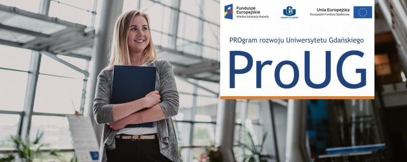 Wydział w projekcie ProUG - Nowe informacje!