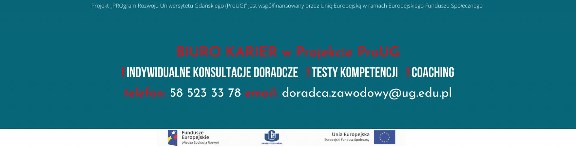 Zaproszenie studentów do udziału w projekcie ProUG