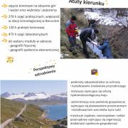 Geografia - studia I stopnia