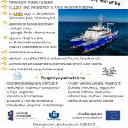 Oceanografia - studia I stopnia